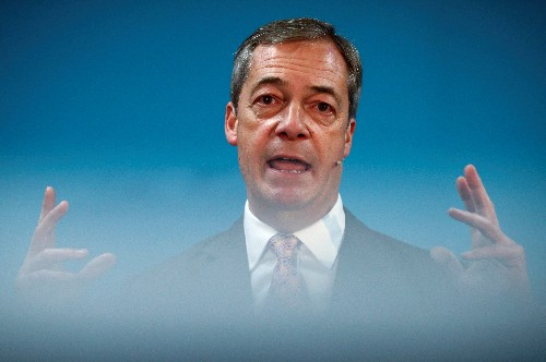Brexit Party's Farage says will stand down no more candidates