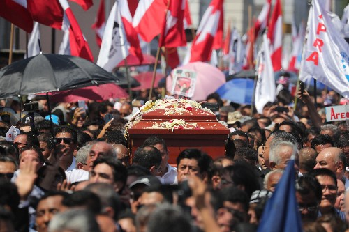 Peru ex-president leaves cadaver as sign of ´contempt´ for his enemies: suicide note
