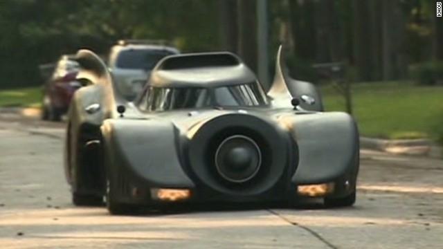 From Corvette to custom-made 'Bat Car' - CNN Video