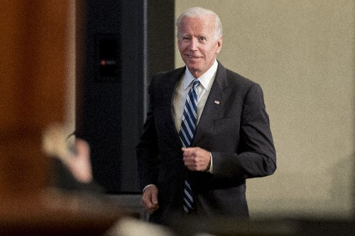 Trump targets Biden after former VP's verbal slip