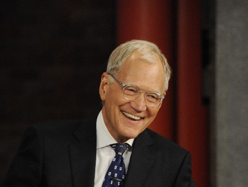 David Letterman Hosts His Final Broadcast