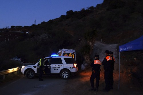 Spain: DNA sample confirms 2-year-old fell into borehole