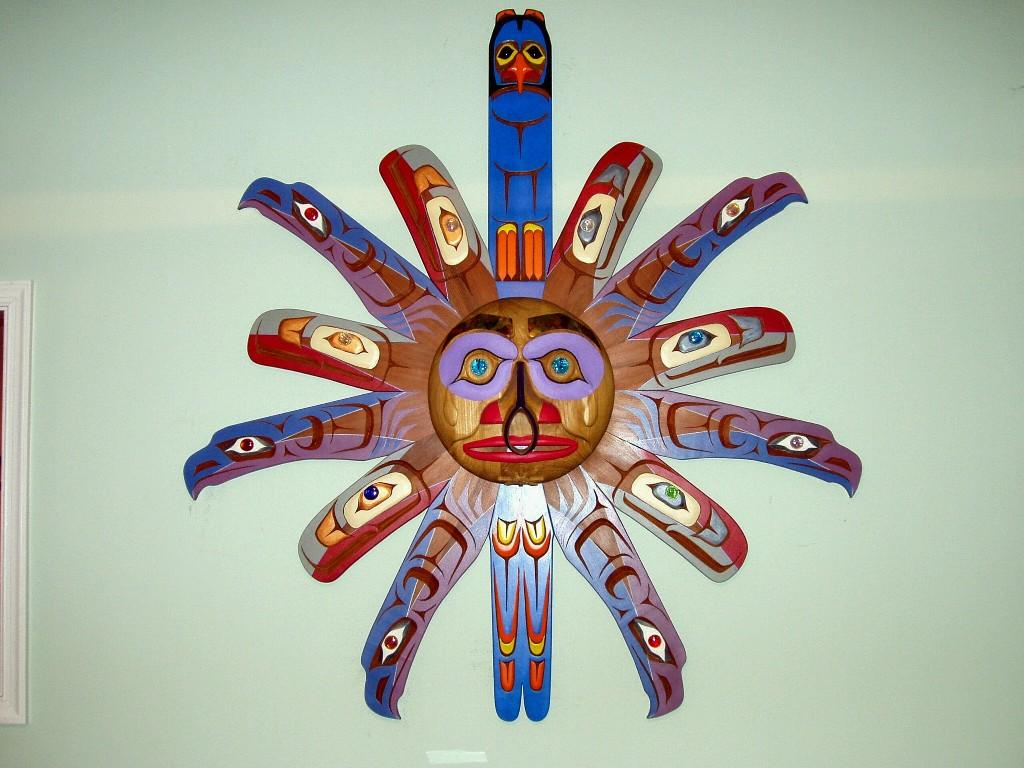 Northwest Coast Native American Sun Mask - cover