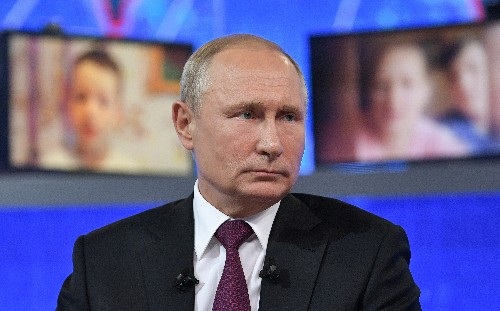 Putin orders suspension of passenger flights from Russia to Georgia