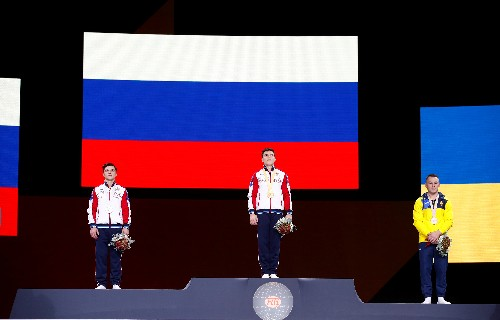 Gymnastics: Nagornyy claims vault gold as Russia raise the roof in Stuttgart