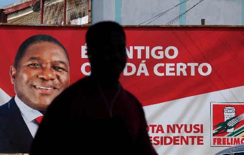 Mozambique's Nyusi heads for big win as poll irregularities reported