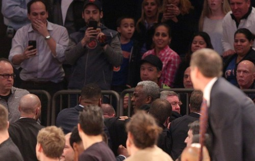 Oakley arrested at Knicks game after altercation