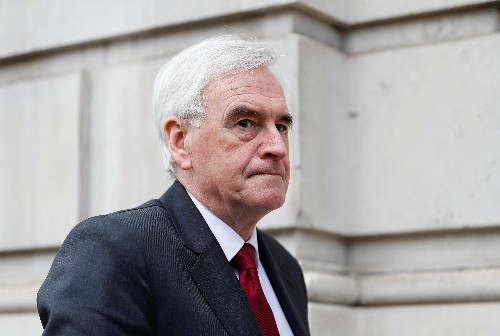 UK Labour lawmakers unlikely to back May's Brexit deal: McDonnell