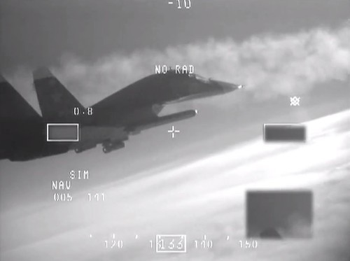 A Dutch Fighter Pilot Shot Video Of Russian Planes Being Intercepted Over The Baltic