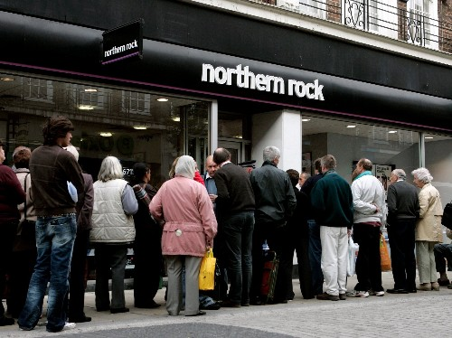 The UK has sold £13 billion of Northern Rock's mortgages to the US