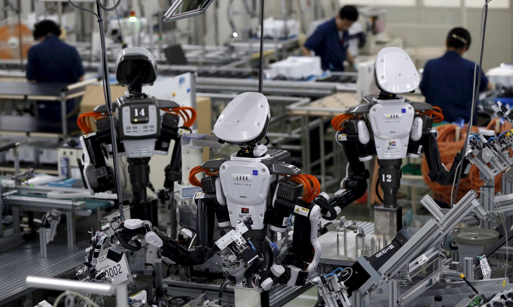 When robots do all the work, how will people live?
