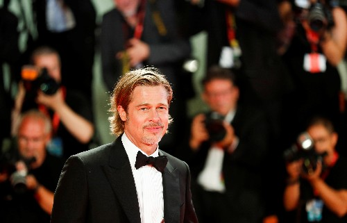 Who calls the tunes in space? Brad Pitt asks NASA astronaut