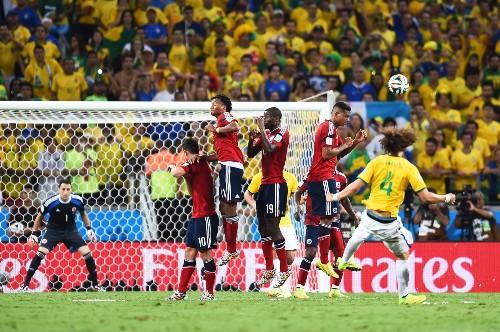 Brazil Advance But Lose Neymar: Pictures