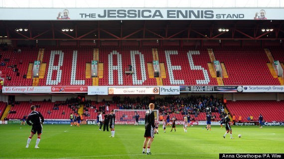 Jessica Ennis-Hill Wants Name Removed From Stand At Sheffield United Over Ched Evans Return