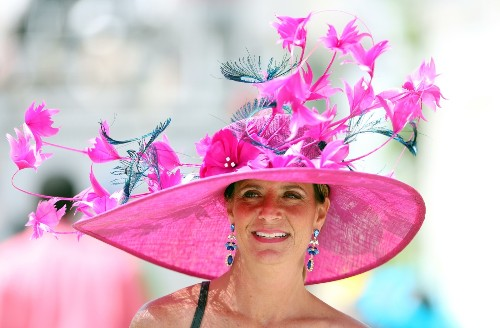 Photo Gallery: Derby Day Hats