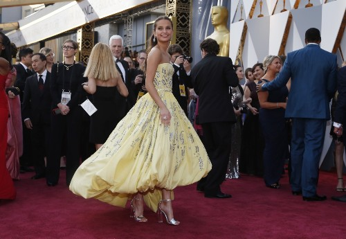 On the Red Carpet at the Oscars: Pictures