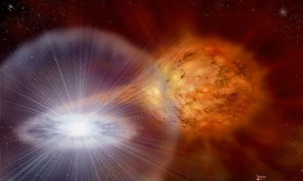 Astronomers capture first ever data of an exploding fireball from a nova star