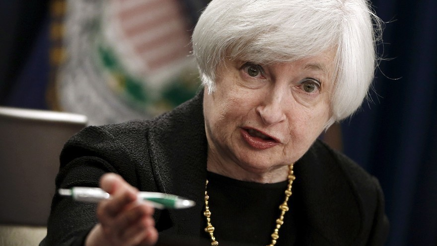 Gold ends near 6-year low as Yellen comments point to rate hike