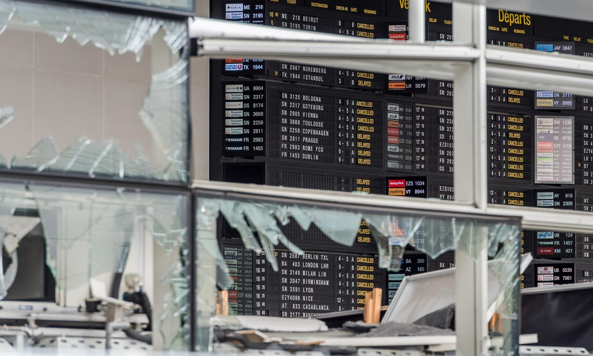 Brussels airport set to reopen with strict new security measures
