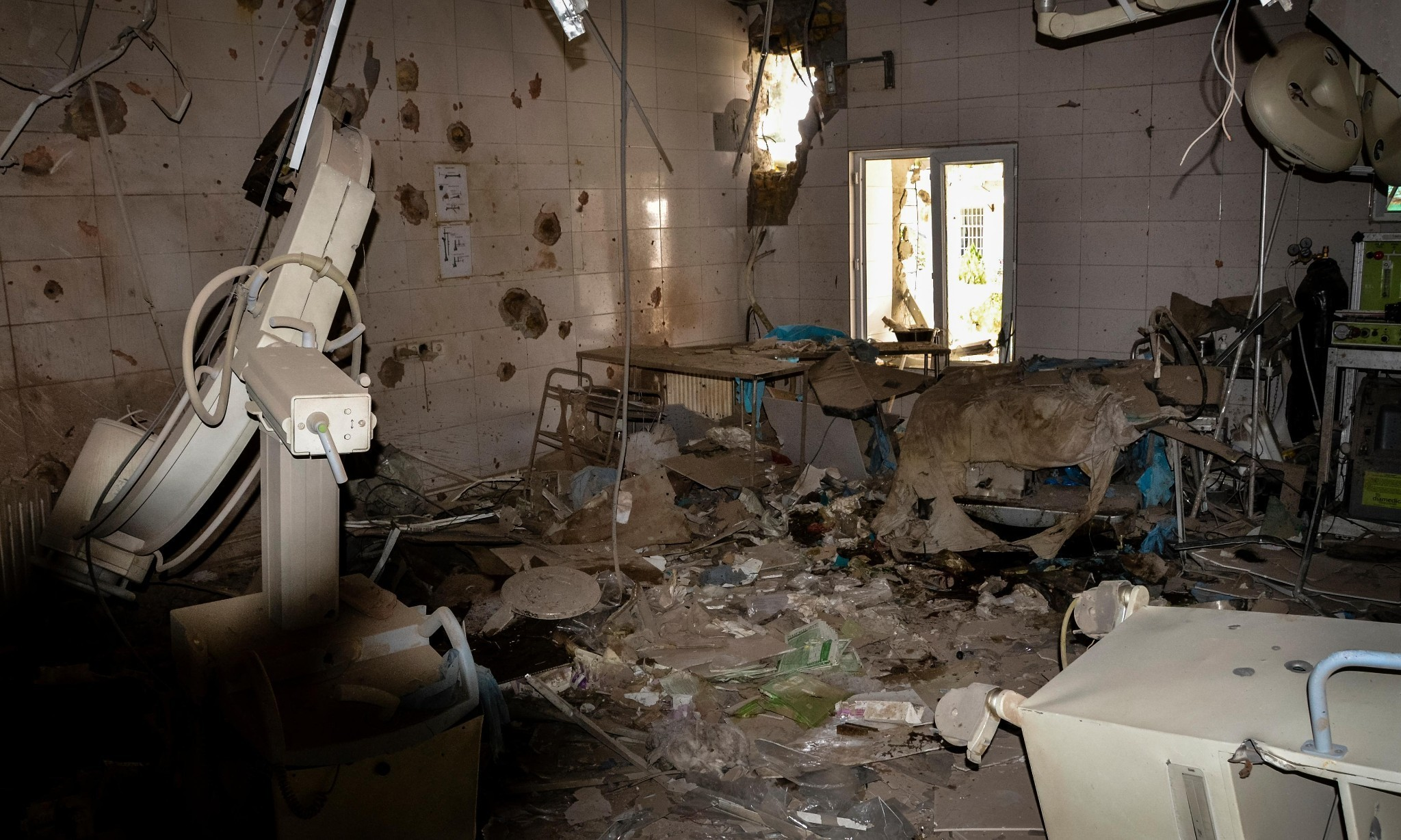 Hospitals are now normal targets of war, says Médecins Sans Frontières