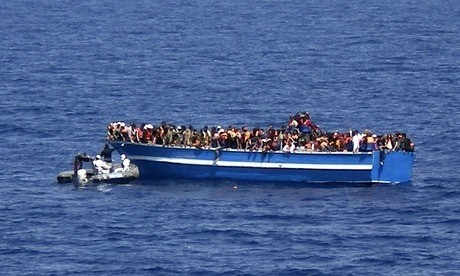 Thirty dead bodies found on migrant boat bound for Italy