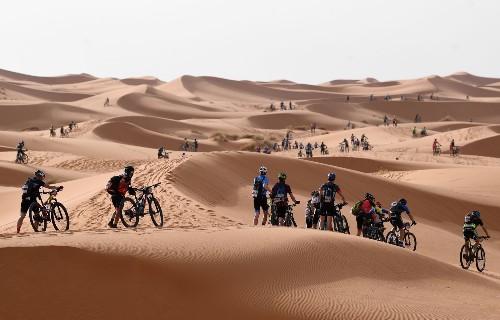 Mountain Biking Through the Desert: Pictures