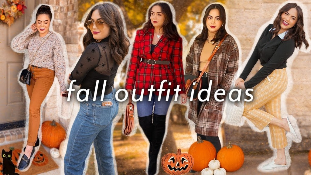 25 FALL OUTFIT IDEAS (casual, chic, spooky, + warm weather!)