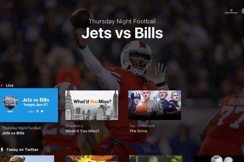 Twitter app brings free NFL games to Apple TV, Amazon Fire TV, and the Xbox One