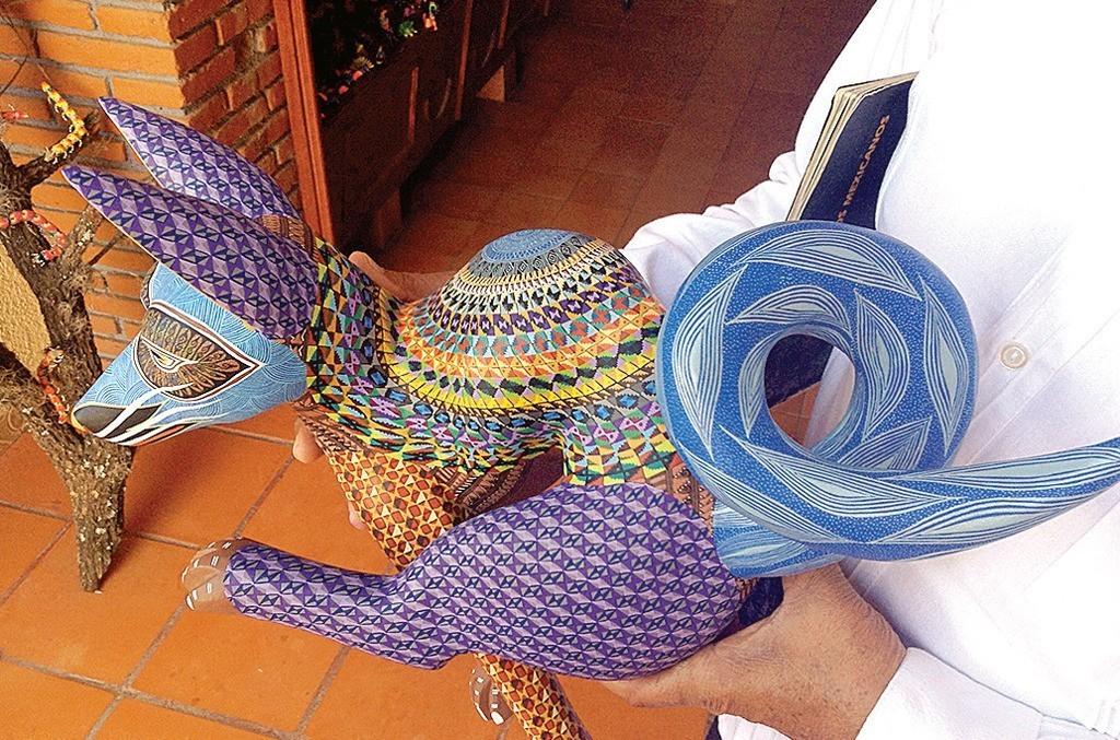 Los Alebrijes, artesanía de La Merced para el Mundo