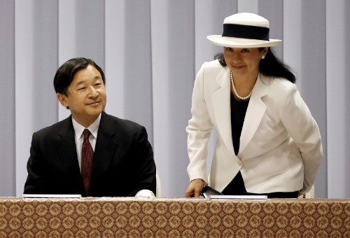 Japan's crown prince ready for throne, but no fairytale for his unhappy princess