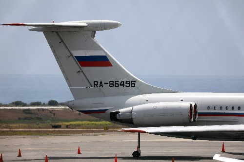 Russian air force plane lands in Venezuela: witness, website