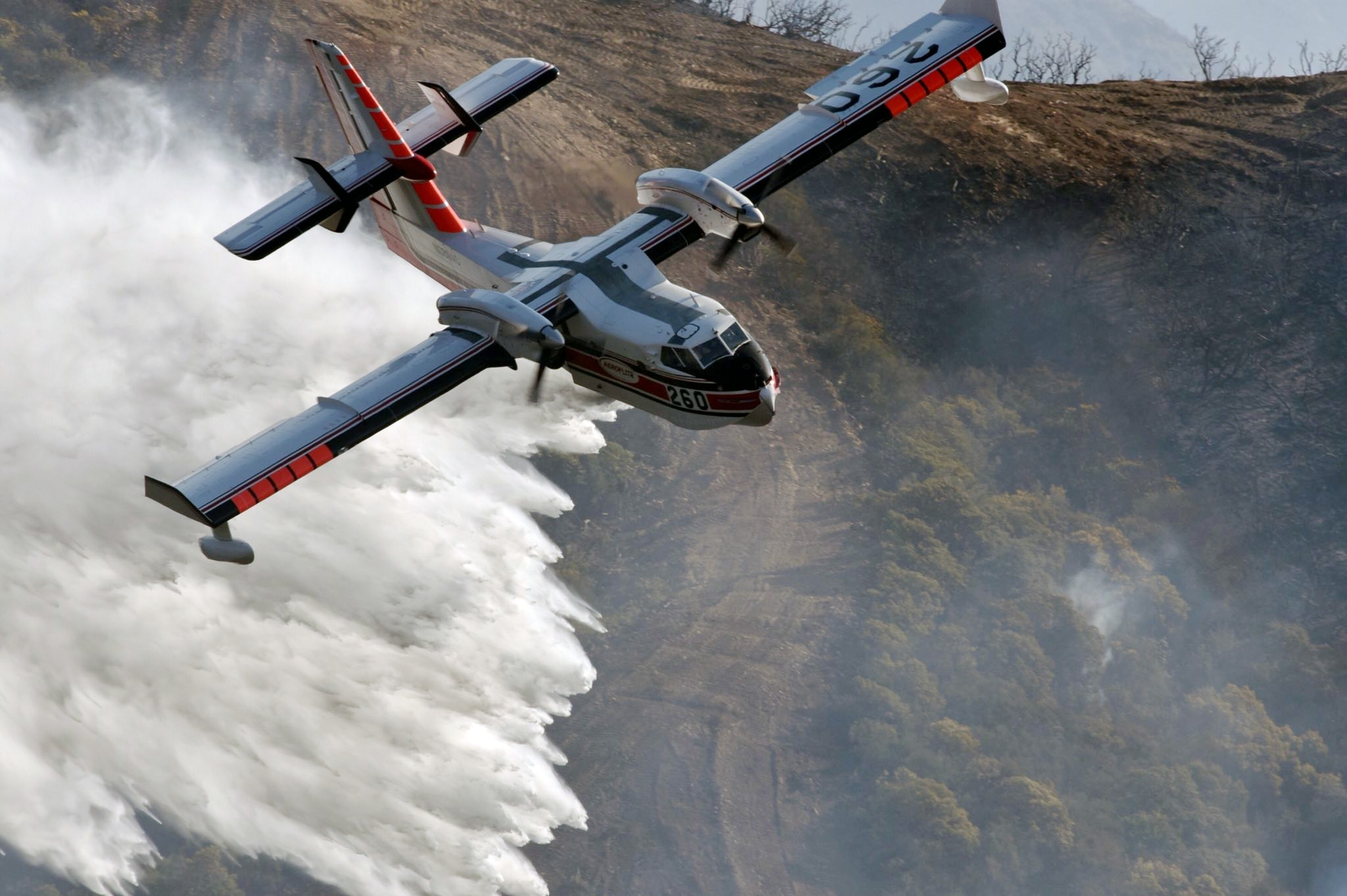 Massive Southern California wildfire now halfway contained