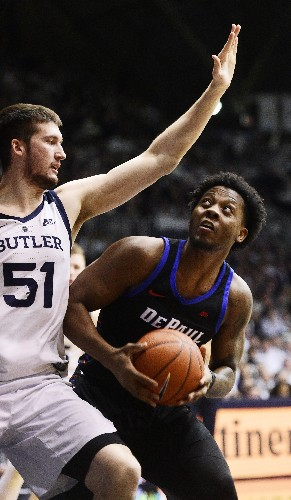 Butler jumps out quickly, turns back DePaul