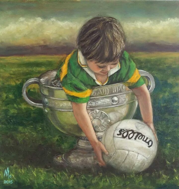 Birthright.....to the people of Kerry who believe that the Kingdom is the true home of Sam Maguire......and to all the mighty players past and present who made this belief possible.