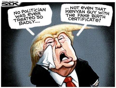 """The Donald""  Donald Trump - Magazine cover"
