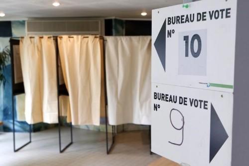 Européennes: LaRem en tête devant le RN, selon Ipsos Sopra Steria