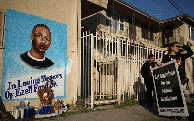Autopsy shows US police shot unarmed black man in back
