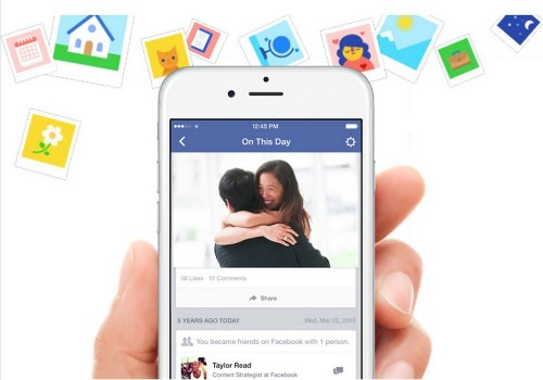 """Facebook's Timehop Clone """"On This Day"""" Shows You Your Posts From Years Ago"""