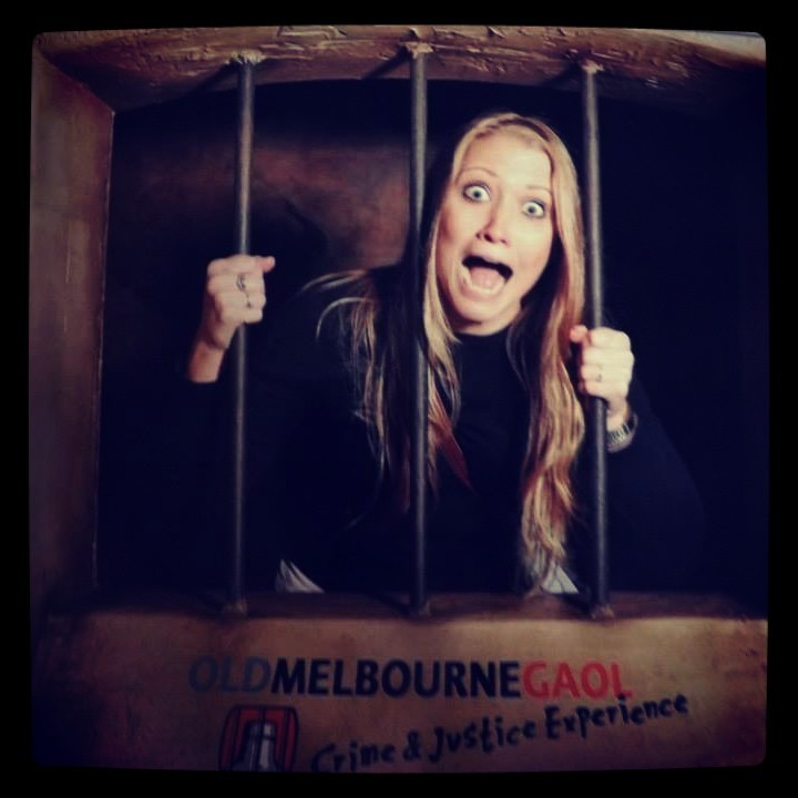 Old Melbourne Gaol where Ned Kelly was hung