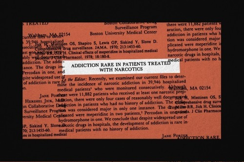 The One-Paragraph Letter From 1980 That Fueled the Opioid Crisis
