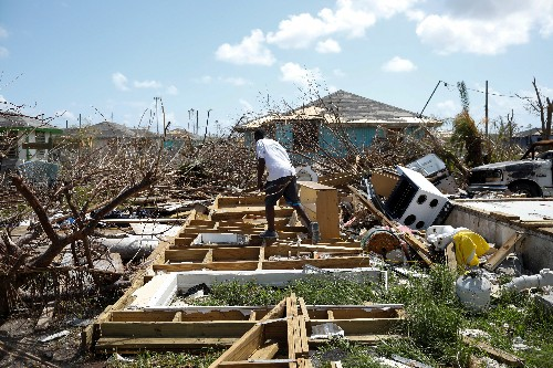 Tropical cyclone bears down on Bahamas, U.N. pledges aid