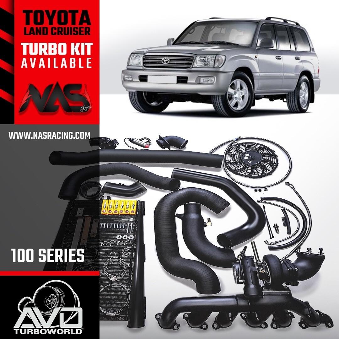 Toyota lc 100 turbo kit availabe at nasracing dubai Www.nasracing.com