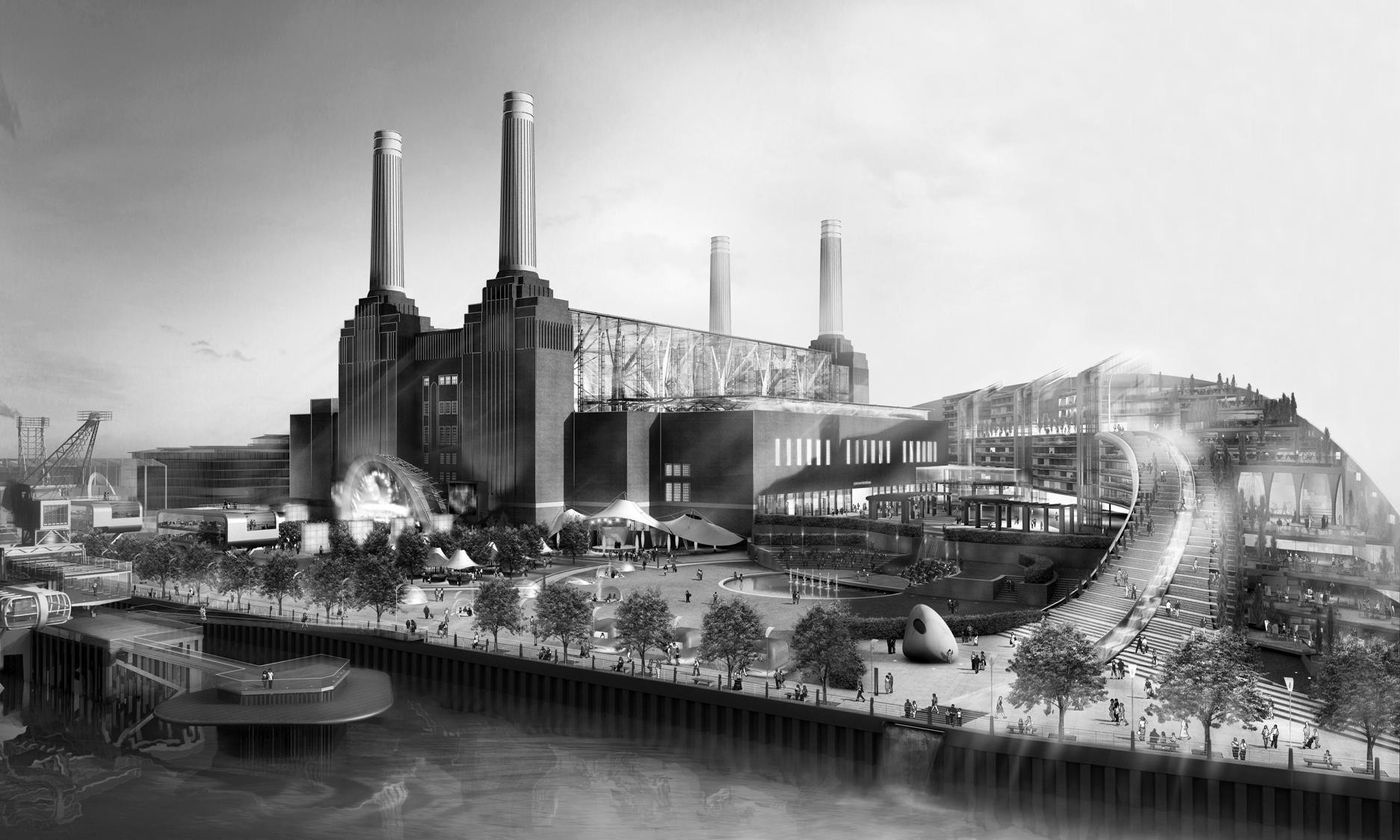 Mosque, circus, Neverland UK … the best failed ideas for Battersea Power Station