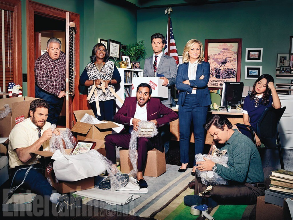 'Parks and Recreation': Inside the futuristic farewell season -- and final days on set