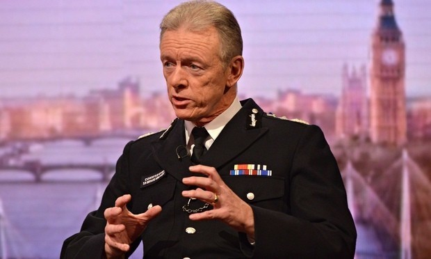 Increased terror threat is stretching resources, says Met police chief