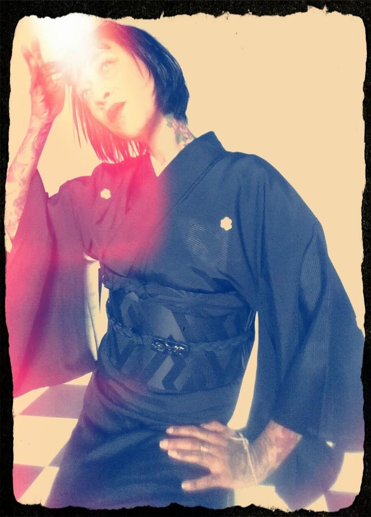 Kimono - Magazine cover