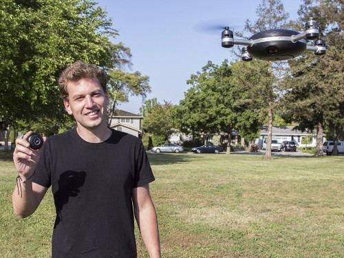 Lily, the drone that automatically follows you around taking video, has raked in $34 million in pre-orders