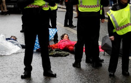 Goldman Sachs, el Banco de Inglaterra y la Bolsa, objetivos de los activistas climáticos en Londres