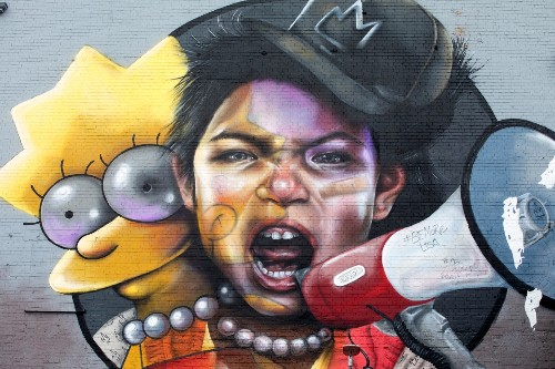 Street Art in England: Pictures