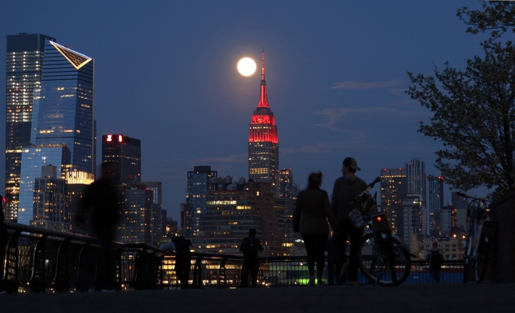 The Pink Supermoon in Pictures